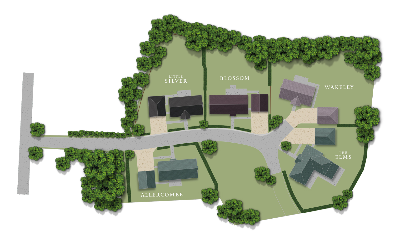 The Grove  site plan